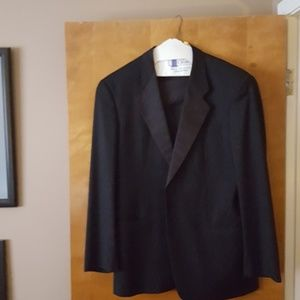 Giorgio Armani Black One Button Tux, Sz 52 (Italia